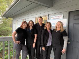 staff at island dental beufort sc